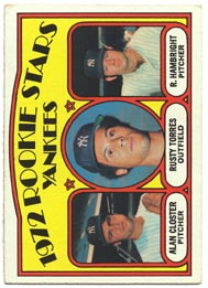 1972 Topps Baseball Cards      124     Alan Closter/Rusty Torres/Roger Hambright RC